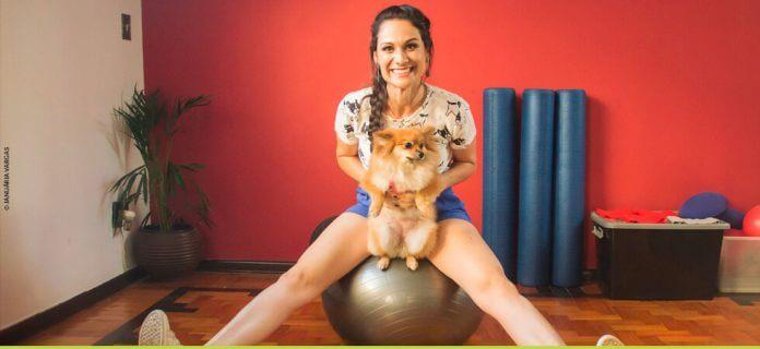 Estúdio de Pilates oferece espaço para cachorros de alunos
