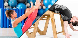 Pilates e Five Konzept no mesmo treino