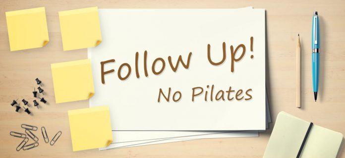 Follow-up no Pilates