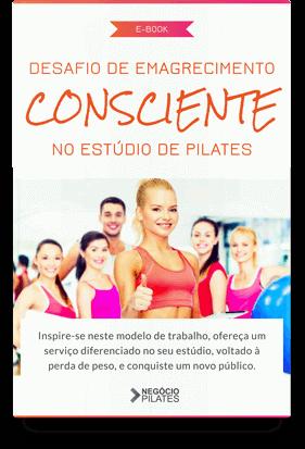 Desafio de emagrecimento consciente no estúdio de Pilates